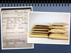 121204_郵便局へ調査請求書を提出